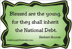 Republican president responsible for Great Depression Herbert Hoover quote