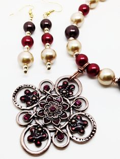 Champagne Red Wine and Chocolate Glass Pearl by WiredInParis