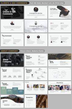 Wild Powerpoint Presentation by batzorig.regzen on Creative Market