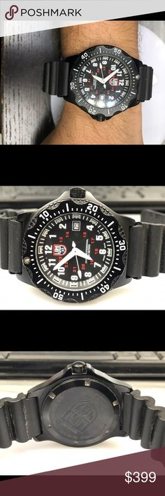 Lumi nox men's sports watch This is pre-owned  mens sports watch. Works great looks like new before shipping it will be cleaned. Adjustable wrist fit. lumi nox Accessories Watches