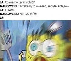This has happened to me SOO many times Funny Memes About Life, Life Memes, Memes Humor, Polish Memes, Funny Mems, School Memes, Reaction Pictures, Pin Collection, Funny Photos