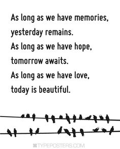 As long as we have hope  Typography Art Print by TypePosters,