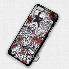 Music Collage Retro - iPhone 7 6S  5C SE Cases & Covers