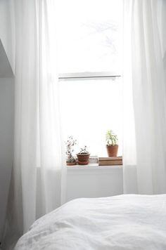 Segredos para decorar seu quarto branco