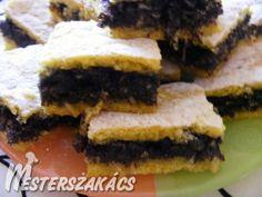 Almás-mákos linzer kocka recept Keto, Sweet Ideas, Poppy, Food, Essen, Meals, Yemek, Poppies, Eten