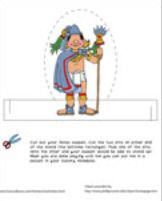 Aztec Puppet (Male)  Cut out this Aztec puppet. When you are done playing with him, put him in a pocket in your history notebook!  http://www.guesthollow.com/homeschool/history/worksheets.html