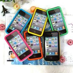 Silicone i-phone 4 Case Phone 4, Phone Cases, Silicone Phone Case, Contemporary Jewellery, Polyvore