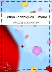 This tutorial will help explain how to use Photoshop's various brush options to change the angle, shape, spacing, scattering, angle, etc of how brushes are applied. There's also some examples of how they can be used to create patterns, paint hair, paint stitching, etc.