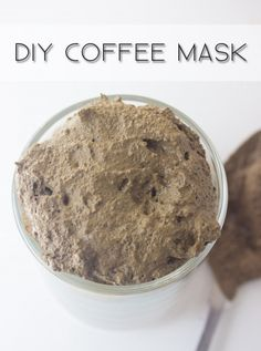 Create a coffee mask to fight the heat and decrease puffiness.
