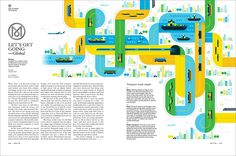 Opener illustration for the Monocle transport issue.