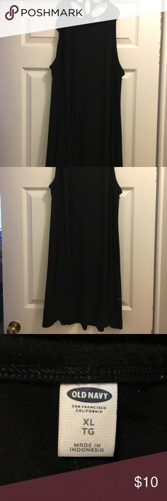 Old Navy Dress size XL Old Navy black dress, size XL, flowy fit, runs a bit large, incredibly comfy, soft material.. perfect for fall cardigans / scarves! Old Navy Dresses Midi