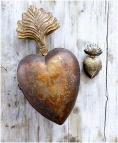 Antique heart.