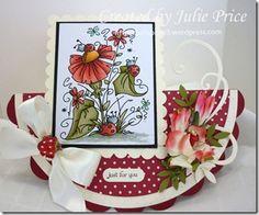 Julie Price Stamps, Paper, Ribbons n Things