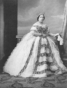 Personajes de la época. Isabel II