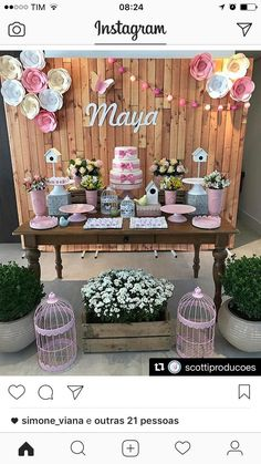 baptism emilia s pink baptism featured parties from catch my rh pinterest com