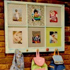 window pane coat rack