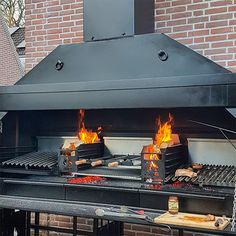 HomeFires Monster BRAAI Dirty Harry 2300 - GRILLBAR-BQ Outdoor Kitchen Design, Kitchen Decor, Supreme, Parrilla Exterior, Grill Bar, Bbq Equipment, Brick Garden, Bar B Q, Products