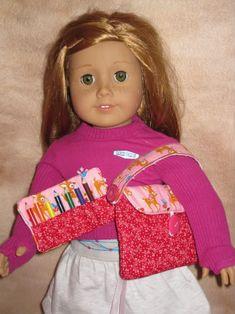 Sale Price   18 inch Doll School Set In The Hoop by SewingForSarah