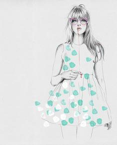 A ilustradora Esra Roise   Choco la Design