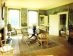 "Emily Evans Eerdmans: Interior Inspirations, Part IV: Reggie Darling    Love these ""painted valences""!!"