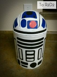 How to Turn a Trashcan into R2-D2