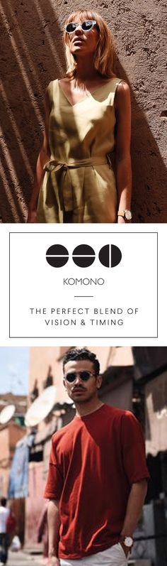 KOMONO - SS17 Fashion Watches & Sunglasses