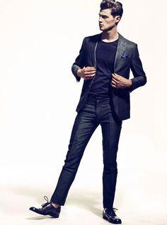 relaxed suiting // #suit #weekendwear