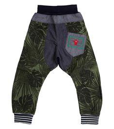Jungle Out There Harem Pant - Big, Oishi-m Clothing for Kids, Winter Break 2018, www.oishi-m.com