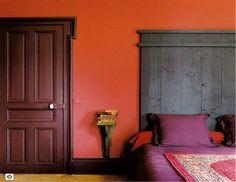 Couleurs chambre pourpre sur pinterest murs de la for Chambre couleur prune
