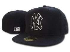 Casquette NY New York Yankees MLB 59Fifty Noir : Casquette Pas Cher