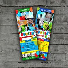 Thomas and Friends Party Invitations by PartyPrintableInvite Party Invitations Kids, Thomas The Tank, Thomas And Friends, Party Printables, Birthday Parties, Handmade Gifts, Etsy, Anniversary Parties, Kid Craft Gifts