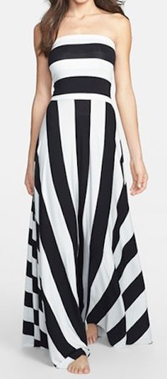 stripe convertible cover-up maxi dress http://rstyle.me/n/v773spdpe