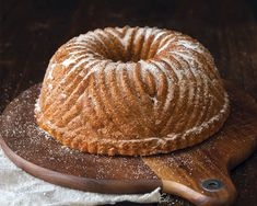 Cider gives this cinnamon sugar doughnut bundt cake its robust apple flavor. To get the full effect, be sure to reduce the cider until thick like syrup. Cupcakes, Cupcake Cakes, Bundt Cakes, Best Apple Recipes, Star Wars Food, Cake Hacks, Plain Cake, Doughnut Cake, Apple Doughnut