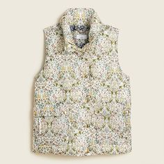 J.Crew - Puffer vest in Liberty® Tapestry floral with PrimaLoft®