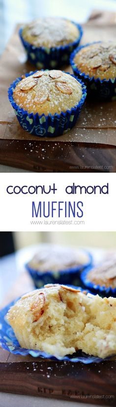 Coconut Almond Muffi