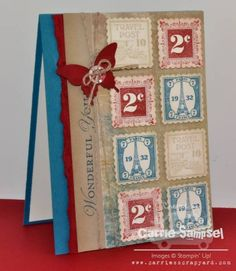 Postage Due by csampsel - Cards and Paper Crafts at Splitcoaststampers