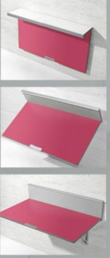 Como funciona el mecanismo de la mesa de cocina abatible de pared WALL de SINGLE