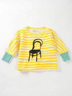 Bobo Choses Loose sweatshirt Thonet   www.littlesahou.com