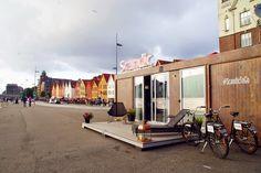 Bryggen i Bergen med Scandic To Go