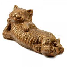 Chocolate lying cat 5.5 x 14.2 x 5.6 cm, 110 g