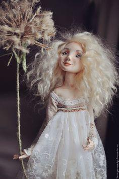 Купить ОДУВАНЧИК (Девчонки, как цвты) (РЕЗЕРВ) - белый, одуванчик, кукла, кукла…