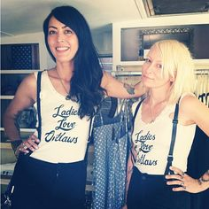 Stella & Donna from @dear__hearts in their James Jeans Get it here: http://courtshop.com/store/search/results?q=james