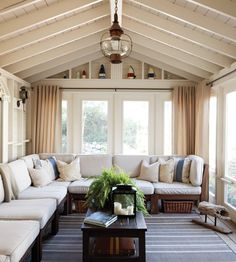 Beachy Sunroom | Photo Gallery: Beautiful Sunrooms | House & Home | photo Janet Kimber