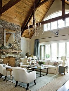 Rustic chic living room rustic chic home decor a batty life rustic shabby chic living room . rustic chic living room rustic chic home decor House Of Turquoise, Style At Home, Home Living Room, Living Room Designs, Living Area, Rustic Chic, Rustic Elegance, Rustic Decor, Rustic Backdrop