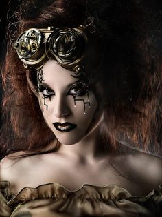 Steampunk Clothing Photography, by Rebeca Saray.