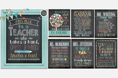 Personalized Teacher Gift Art Prints 60% OFF  A lasting Thank You Keepsake for all your favorite Teachers!
