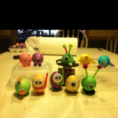 My kids egg creations