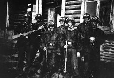 """The 36th Waffen Grenadier Division of the SS, better known as the SS-Sturmbrigade """"Dirlewanger"""" (or Dirlewanger Brigade), was a military unit of the Waffen-SS during World War II. Originally formed for anti-partisan duties against the Polish resistance, it eventually saw action against the Soviet Red Army near the end of the war. During its operations it engaged in the rape, pillaging and mass murder of civilians."""