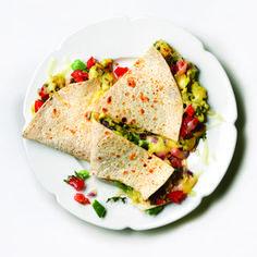 Scrambled Eggsadilla http://www.womenshealthmag.com/weight-loss/healthy-breakfast-recipes/scrambled-eggsadilla