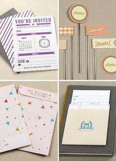 Free things to print and make Have you seen the ever-expanding collection of free printables at Love vs. Design? Download gift card envelopes, library cards, invitations, and more.   See more: downloads